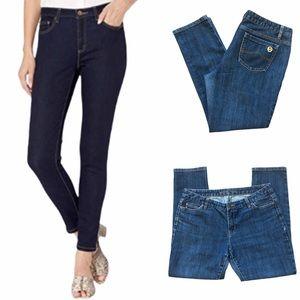 MICHAEL KORS Petite Skinny Ankle Jeans